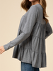 Entro Long Sleeve Tiered Top