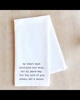 Devenie Designs Salad Tea Towel