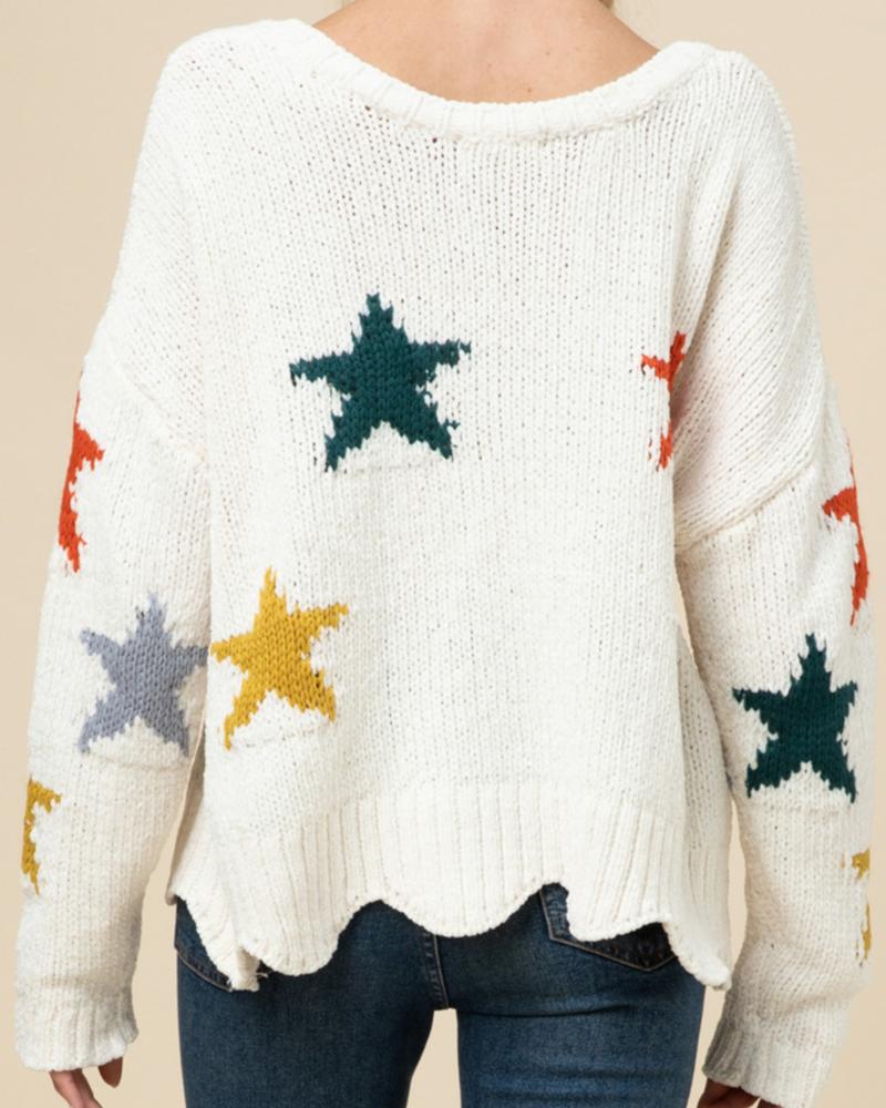Entro Star Sweater