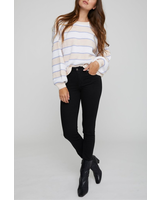 Gentle Fawn Striped Spring Sweater