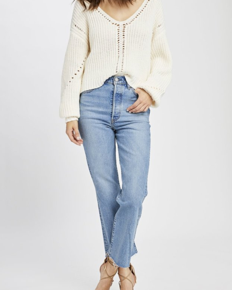 Gentle Fawn Open weave sweater