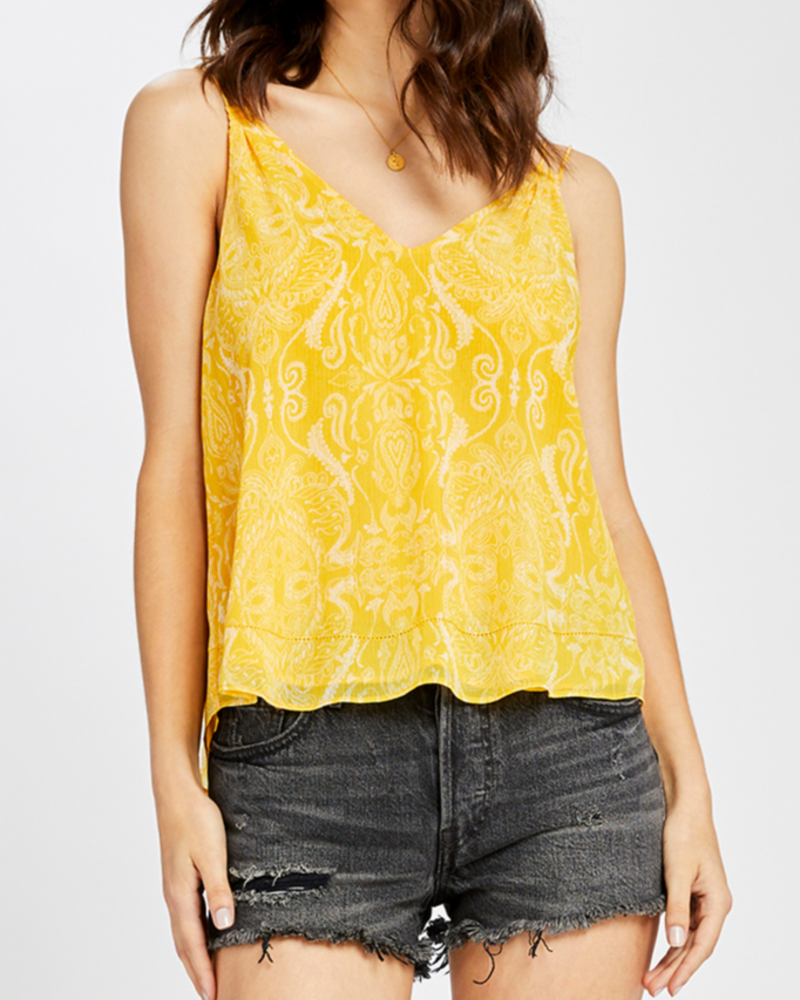 Gentle Fawn Printed paisley tank