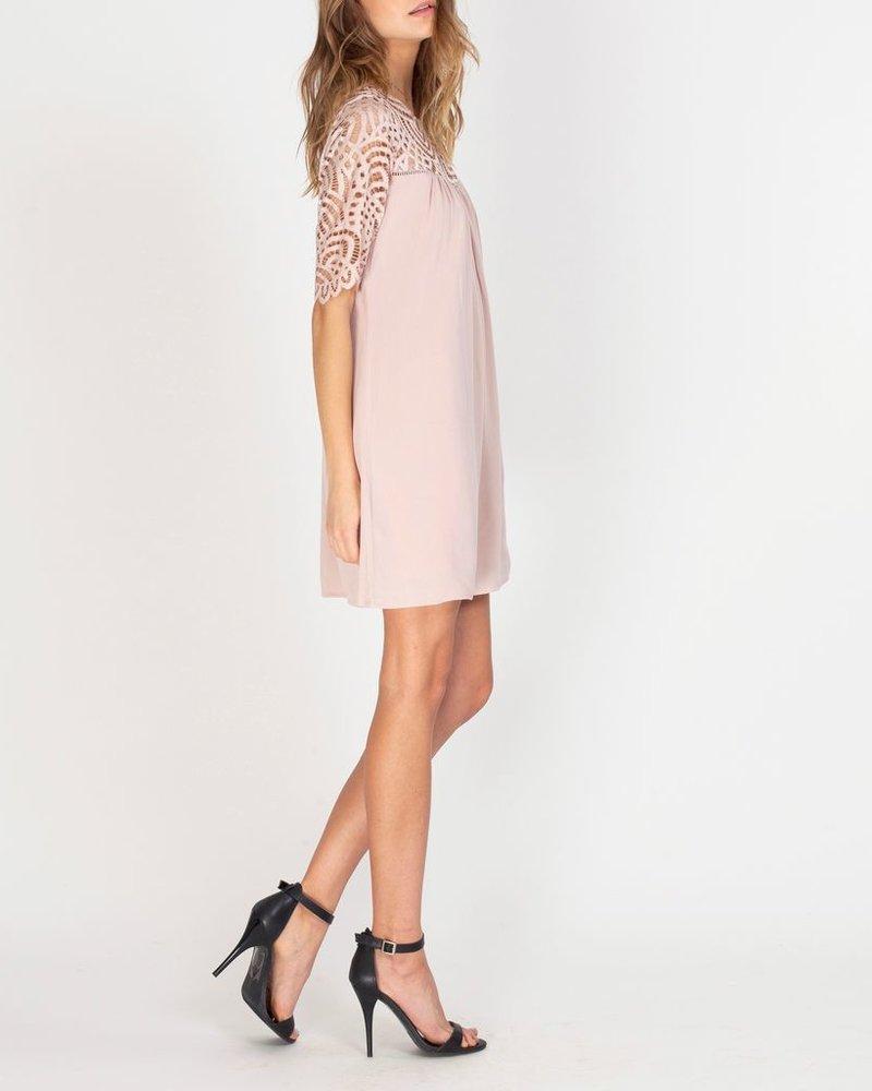 Gentle Fawn Lace sleeve dress