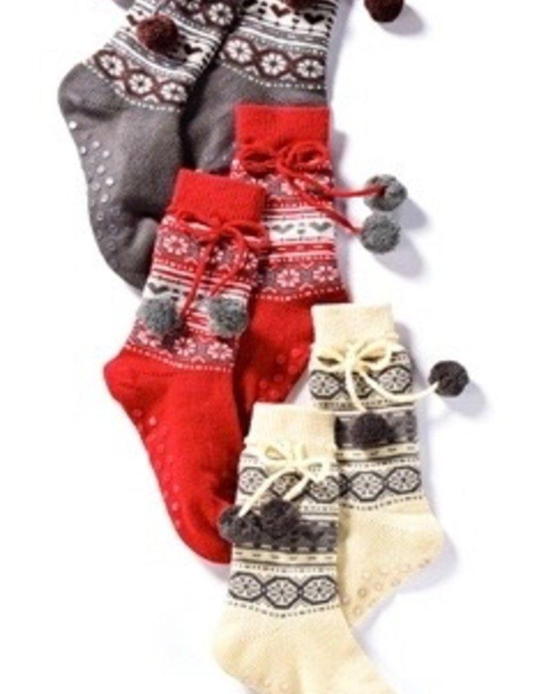 Charlie Paige Fleece Lined Slipper Socks
