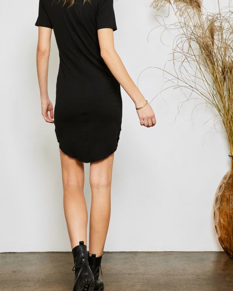 Gentle Fawn Classic Ribbed Dress