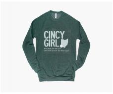 Cincy, Ohio, KY Girl Tees