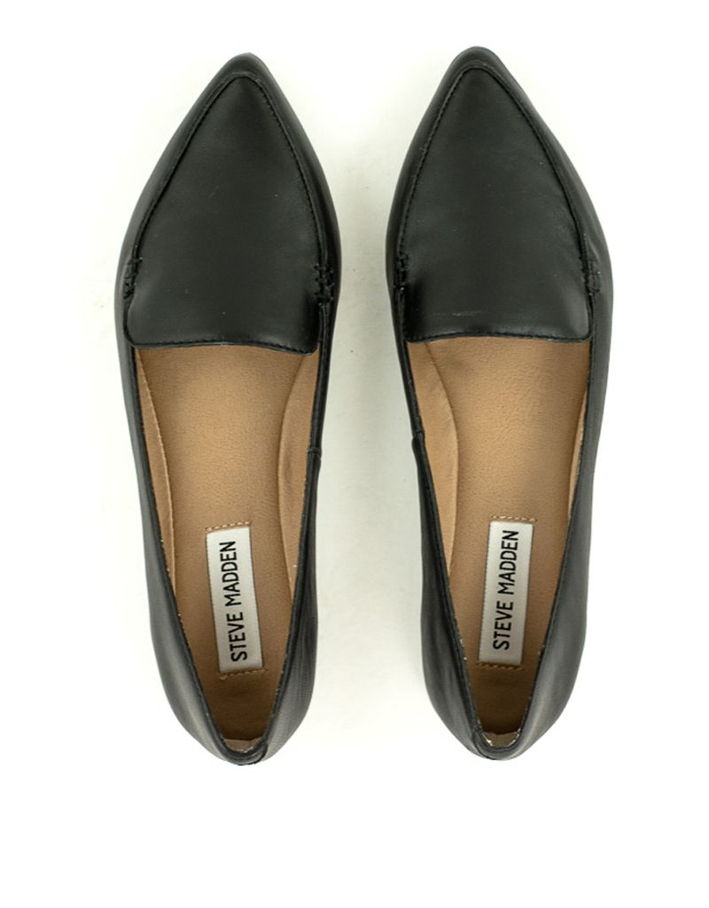 f0f60db6c66 Steve Madden — Feather Shoes in Black at Shoe La La