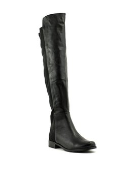 Tony Bianco Panache OTK Boot Black