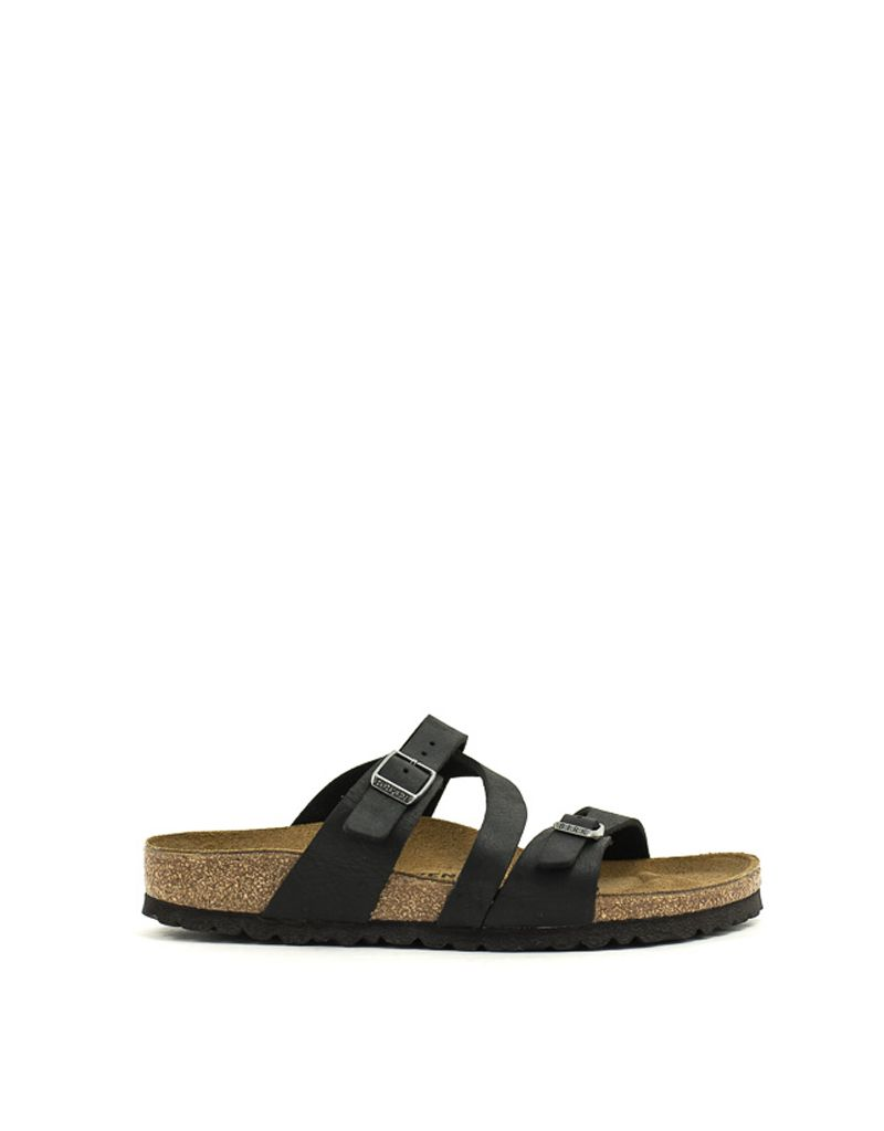 0f3ca69556b Birkenstock Birkenstock Salina Canberra Old Black Black Natural Leather  Narrow Width