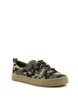 Sperry Crest Vibe Sneaker Camo Olive