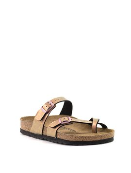 Birkenstock Mayari Birko Flor Graceful Gemm Red Regular Width