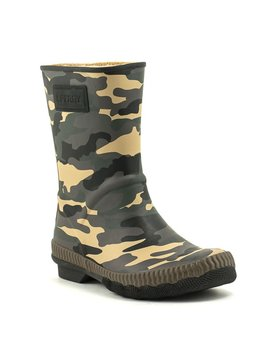 Sperry Saltwater Current Rain Boot Camo