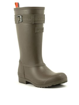 Sperry Walker Atlantic Rain Boot Olive/Orange