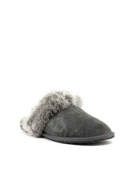Manitobah Igloo Slipper Charcoal