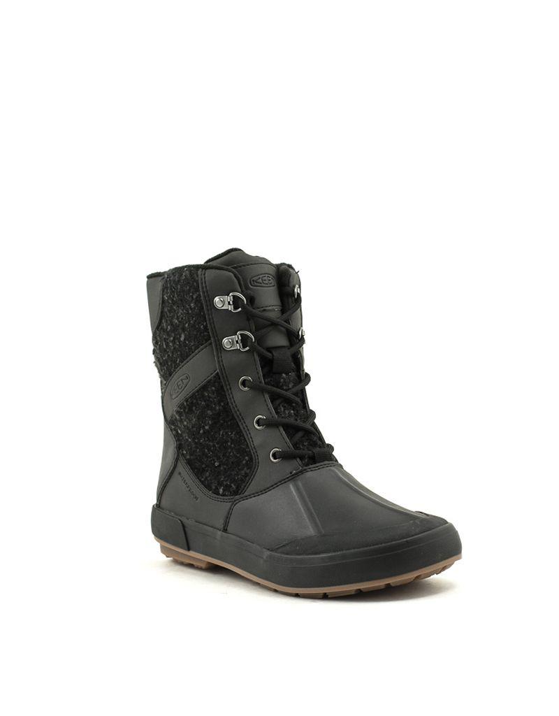 a7745be9dd1 Keen — Belleterre Wool Boot WP Black/Raven at Shoe La La