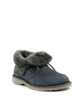 Birkenstock Bakki Shoe Graphite Shearling