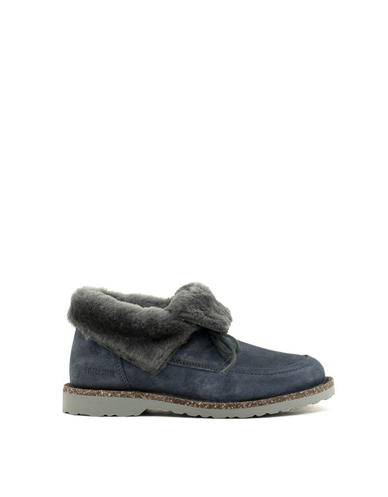 Birkenstock Birkenstock Bakki Shoe Graphite Shearling