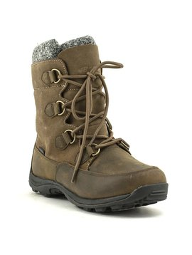 Baffin Aspen Winter Boot Taupe/Dk Brown