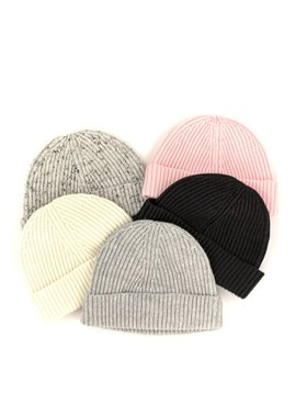 Naif Naif B3 Toque Black, Blush, Light Grey, Melange Grey, White