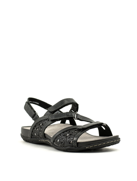 Earth Sand Maui Sandal Black