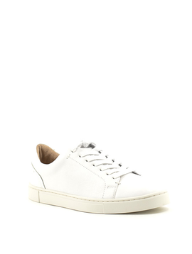 Frye Ivy Low Lace Sneaker White