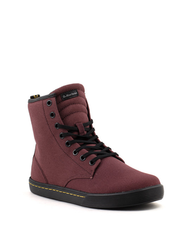Dr. Martens Sheridan Boot Old Oxblood Canvas
