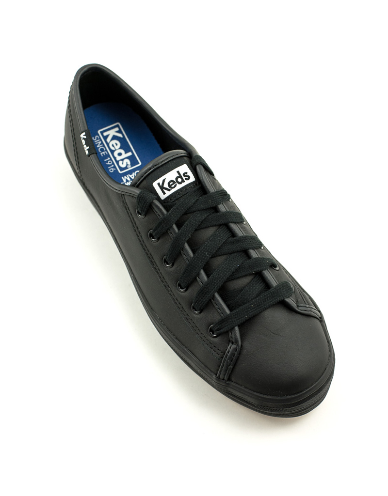 Keds Keds Triple Kick Leather Sneaker Black Leather