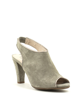 Ateliers Dani Shoe Taupe Kid Suede