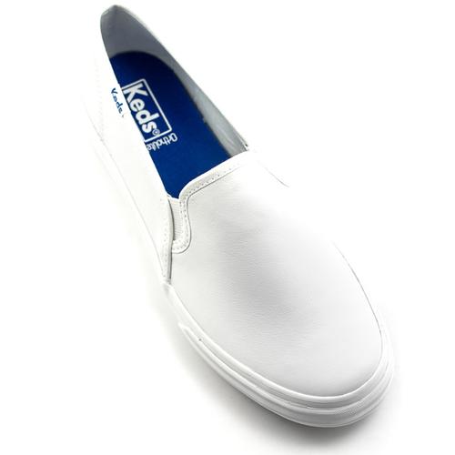 Keds Keds Double Decker Leather Shoe White