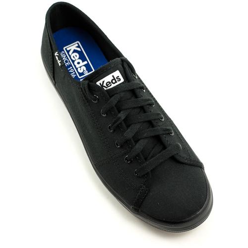 Keds — Kickstart Canvas Sneaker Black