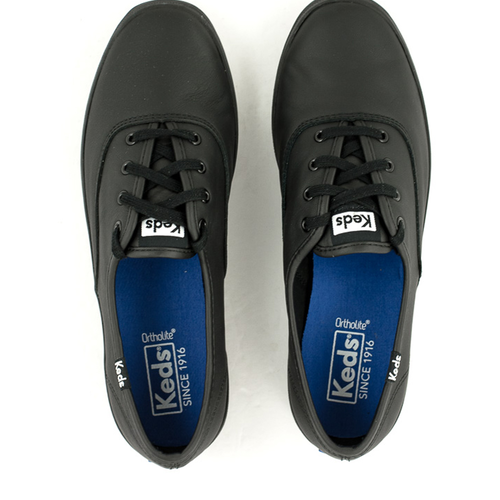 Keds Keds Champion Black Leather
