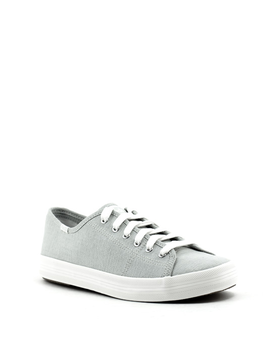 Keds Kickstart Mini Chambray Sneaker Gray