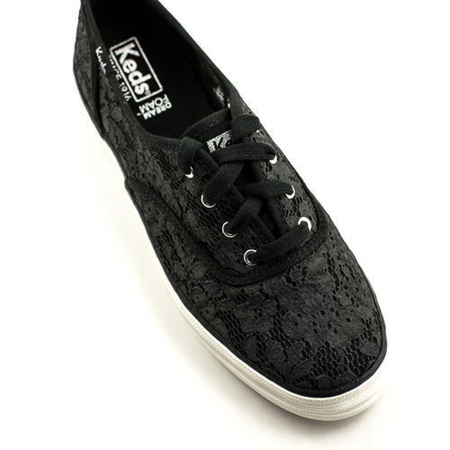 Keds Keds Triple Painted Crochet Sneaker Black