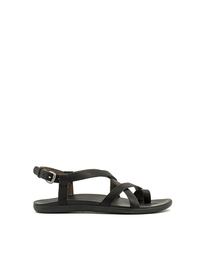 Olukai Olukai Upena Sandal Black Leather