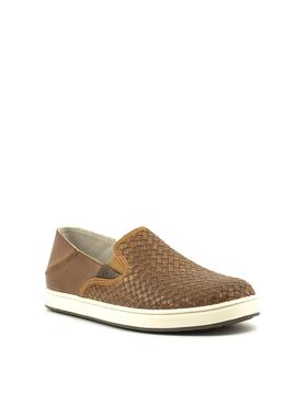 Men's Olukai Kahu Lauhala Shoe Fox/Off White