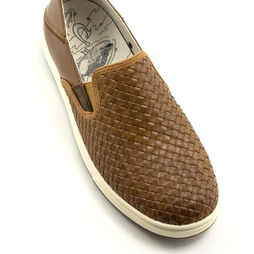 Olukai Men's Olukai Kahu Lauhala Shoe Fox/Off White
