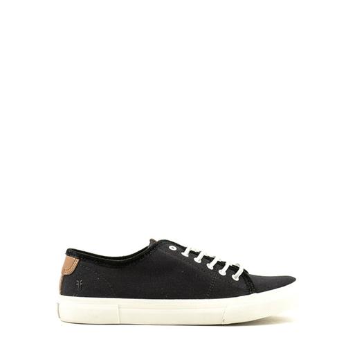 Frye Frye Gia Canvas Low Lace Sneaker Black