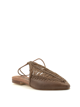 Free People Dana Pointed Flat Tan