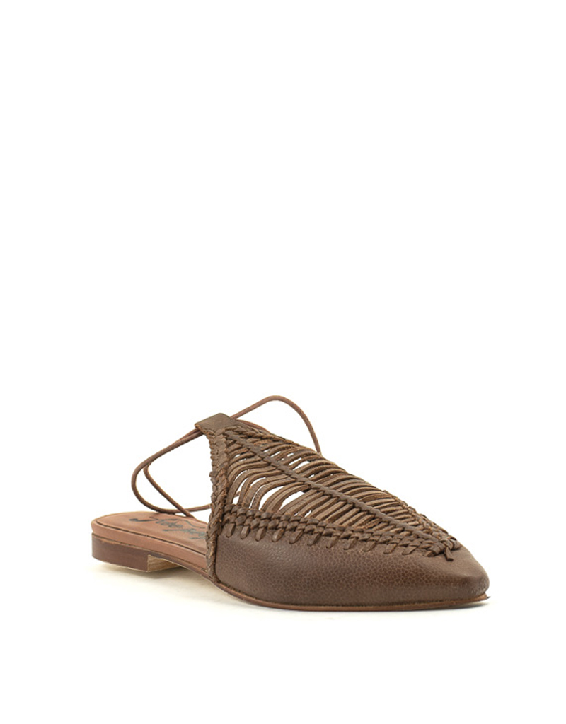Free People Free People Dana Pointed Flat Tan