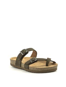 Eastland Tiogo Sandal Olive Nubuck