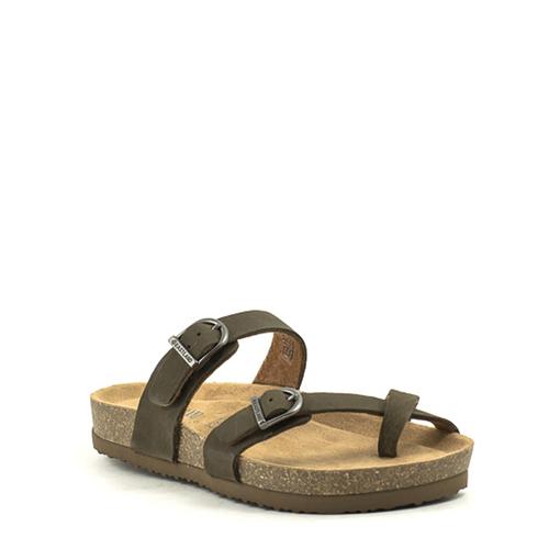 Eastland Eastland Tiogo Sandal Olive Nubuck