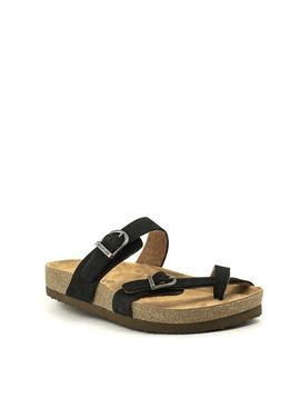 Eastland Tiogo Sandal Black Nubuck