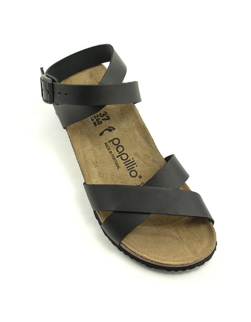 Birkenstock Birkenstock Lola Sandal Black Leather Narrow Width