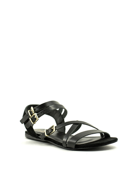 Shoe The Bear Tanny Buckle Sandal Black