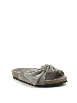 Brusque Rae Sandal Grey Suede