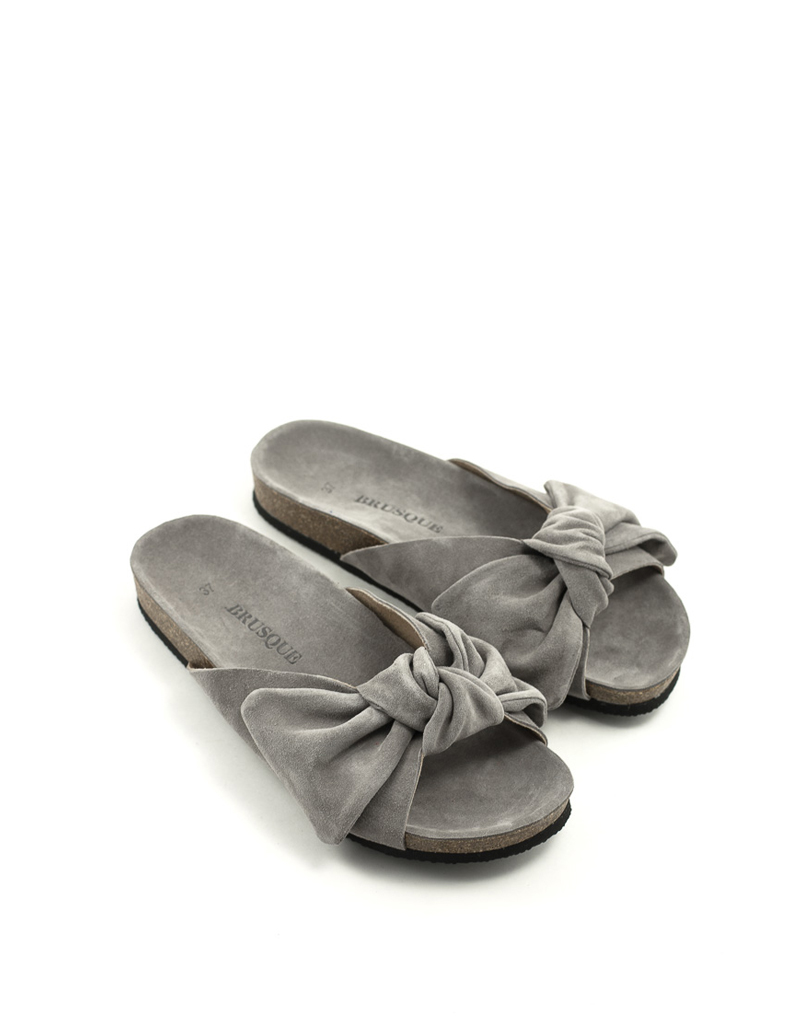 Brusque Brusque Rae Sandal Grey Suede