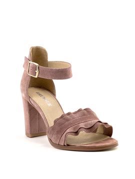 Brusque Mayfair Sandal Rose Suede