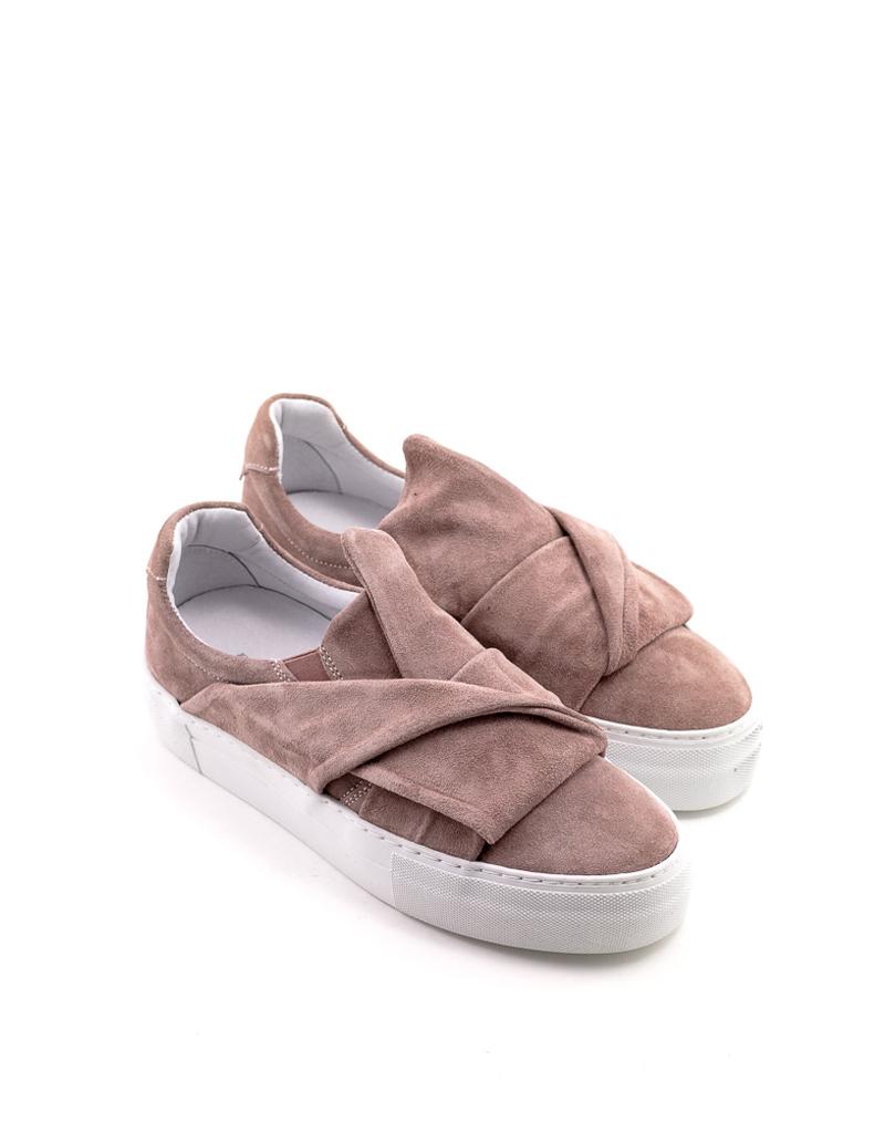 Brusque Brusque Duke Suede Sneaker Pink
