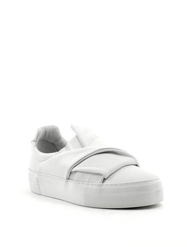 Brusque Duke Leather Sneaker White