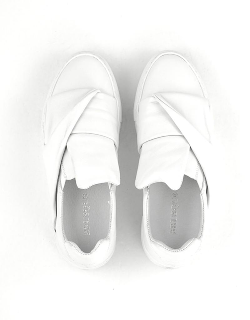Brusque Brusque Duke Leather Sneaker White